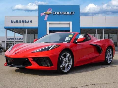 2021 Chevrolet Corvette for sale at Suburban Chevrolet of Ann Arbor in Ann Arbor MI
