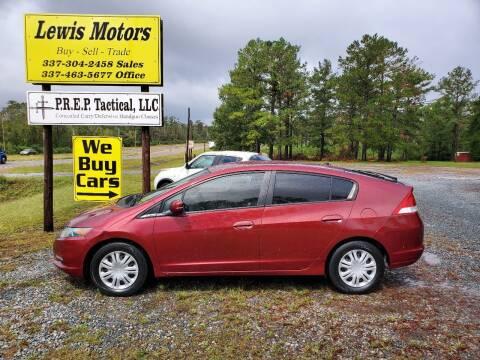 2010 Honda Insight for sale at Lewis Motors LLC in Deridder LA