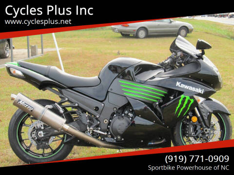 2009 Kawasaki Ninja ZX-14R for sale at Cycles Plus Inc in Garner NC