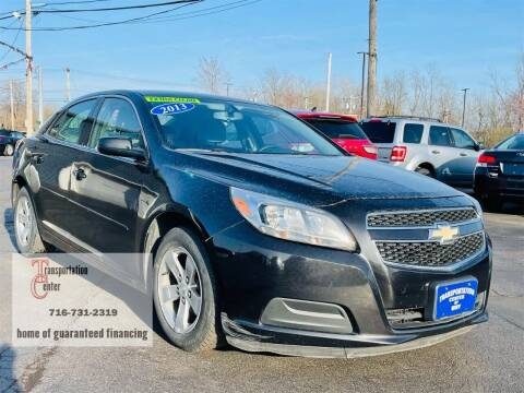 2013 Chevrolet Malibu for sale at Transportation Center Of Western New York in Niagara Falls NY