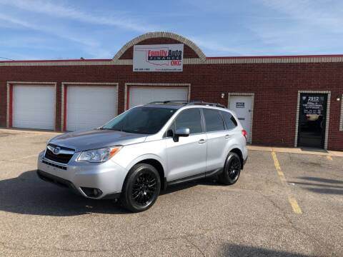 2016 Subaru Forester for sale at Family Auto Finance OKC LLC in Oklahoma City OK