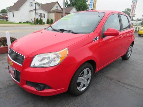2010 Chevrolet Aveo for sale at Bells Auto Sales in Hammond IN