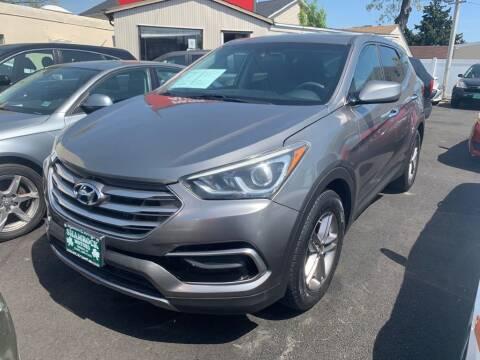 2017 Hyundai Santa Fe Sport for sale at Park Avenue Auto Lot Inc in Linden NJ