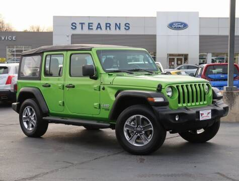 2020 Jeep Wrangler Unlimited for sale at Stearns Ford in Burlington NC