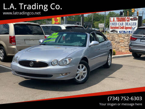 2005 Buick LaCrosse for sale at L.A. Trading Co. in Woodhaven MI