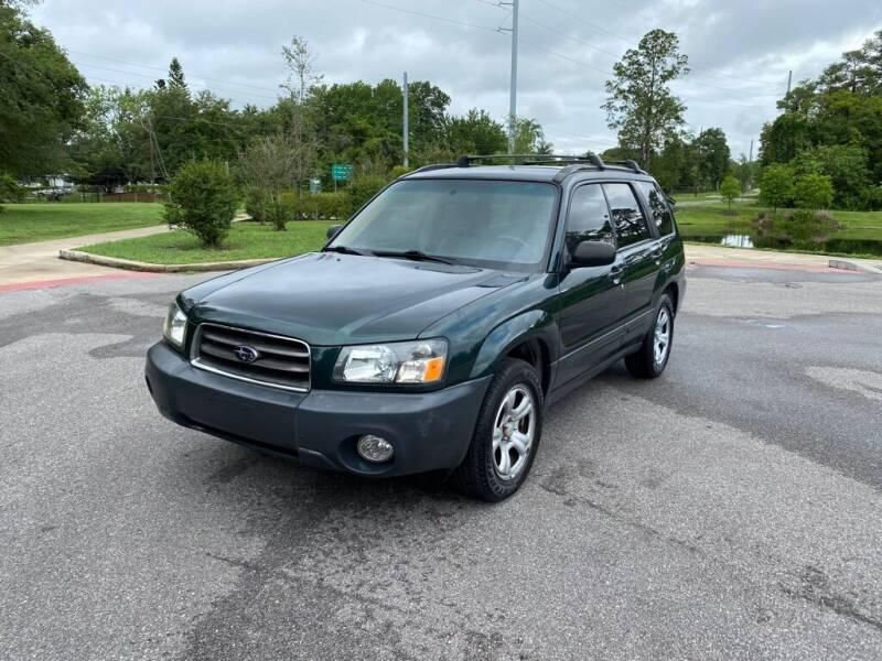 2003 Subaru Forester for sale at CENTRAL FLORIDA AUTO MART LLC in Orlando FL