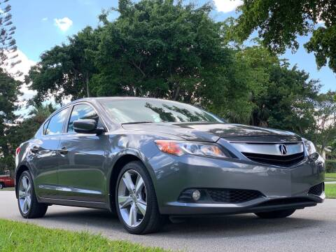 2013 Acura ILX for sale at HIGH PERFORMANCE MOTORS in Hollywood FL