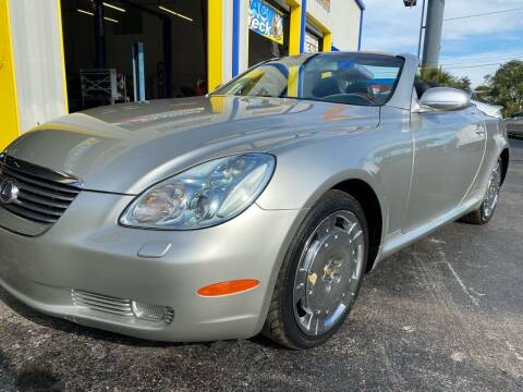 2003 Lexus SC 430 for sale at RoMicco Cars and Trucks in Tampa FL