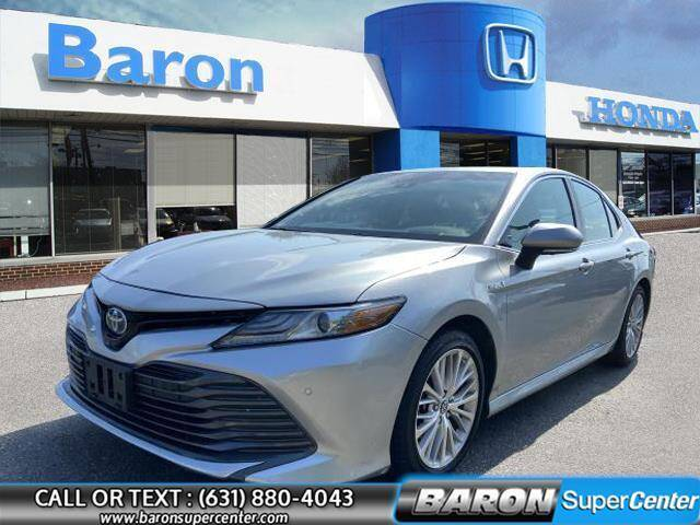 2018 Toyota Camry Hybrid for sale at Baron Super Center in Patchogue NY