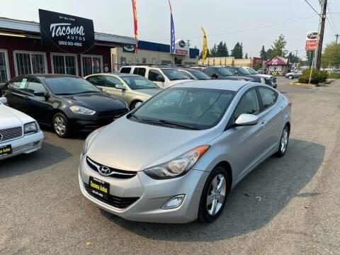2012 Hyundai Elantra for sale at Tacoma Autos LLC in Tacoma WA