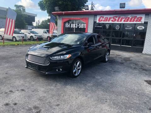 2016 Ford Fusion for sale at CARSTRADA in Hollywood FL