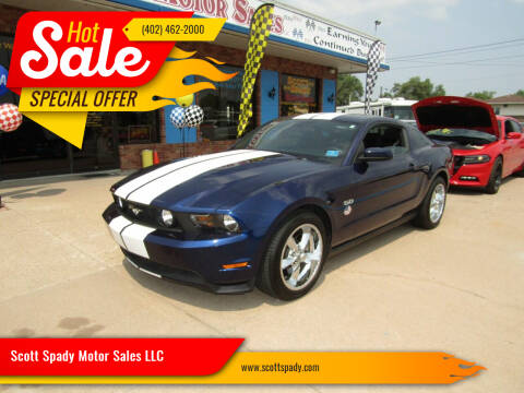 2012 Ford Mustang for sale at Scott Spady Motor Sales LLC in Hastings NE