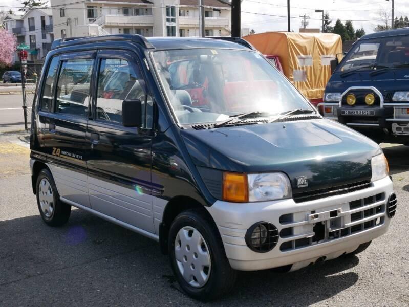 1995 Daihatsu Move 4WD for sale at JDM Car & Motorcycle LLC in Seattle WA