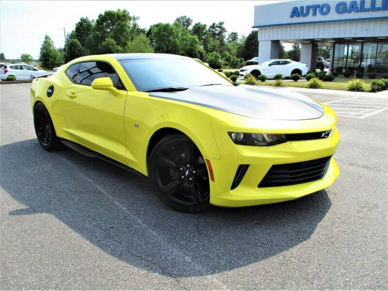 2017 Chevrolet Camaro for sale at Auto Gallery Chevrolet in Commerce GA
