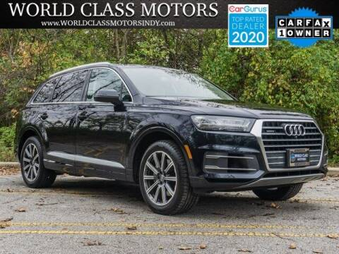 2017 Audi Q7 for sale at World Class Motors LLC in Noblesville IN