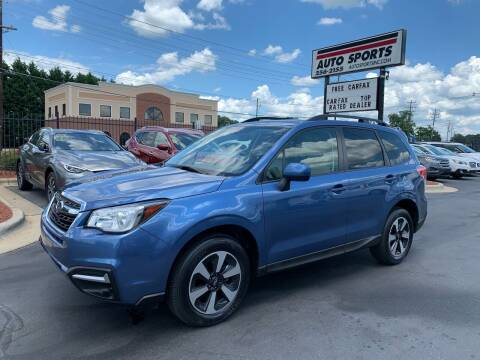 2017 Subaru Forester for sale at Auto Sports in Hickory NC