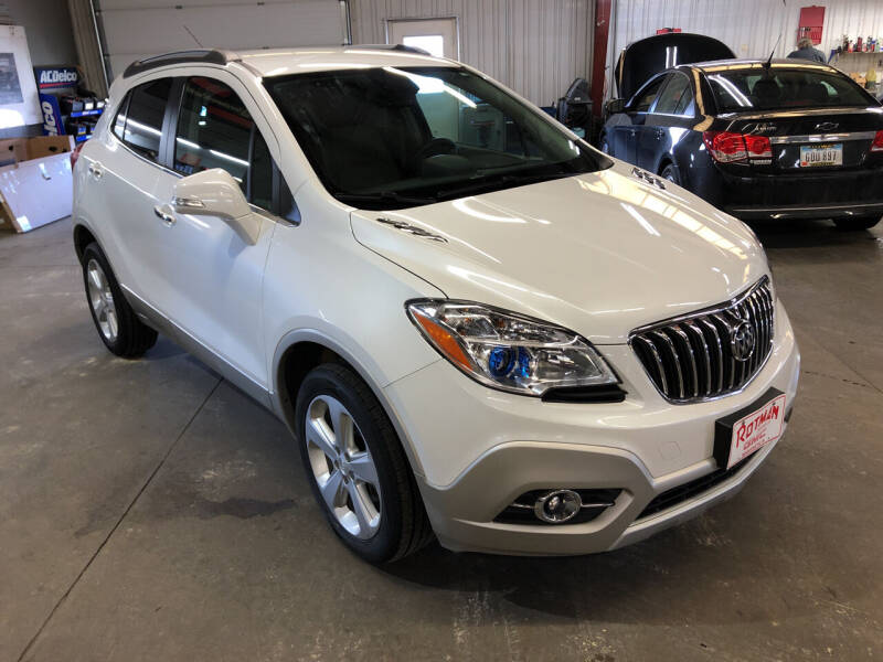 2015 Buick Encore for sale at ROTMAN MOTOR CO in Maquoketa IA