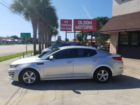 2014 Kia Optima for sale at Olson Motors LLC in Saint Augustine FL