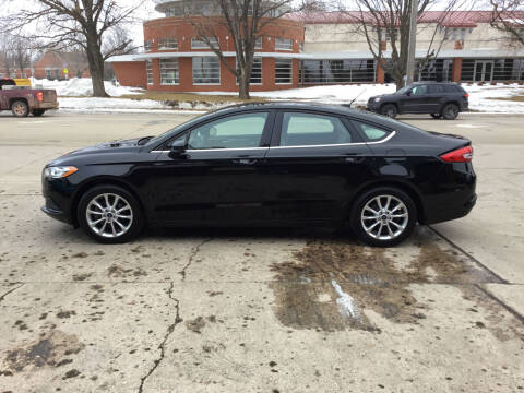2017 Ford Fusion for sale at Mulder Auto Tire and Lube in Orange City IA