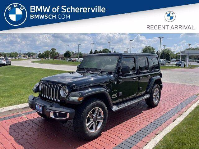 2018 Jeep Wrangler Unlimited for sale at BMW of Schererville in Shererville IN