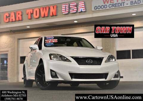 2011 Lexus IS 250 for sale at Car Town USA in Attleboro MA