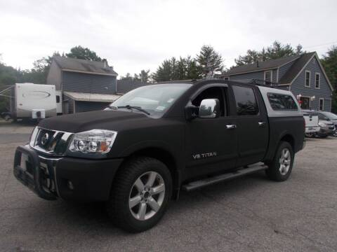 2008 Nissan Titan for sale at Manchester Motorsports in Goffstown NH