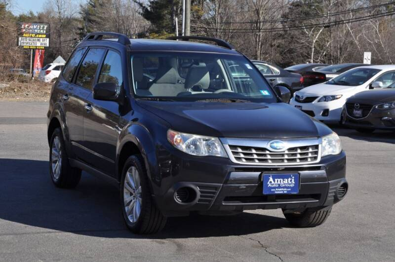 2012 Subaru Forester for sale at Amati Auto Group in Hooksett NH
