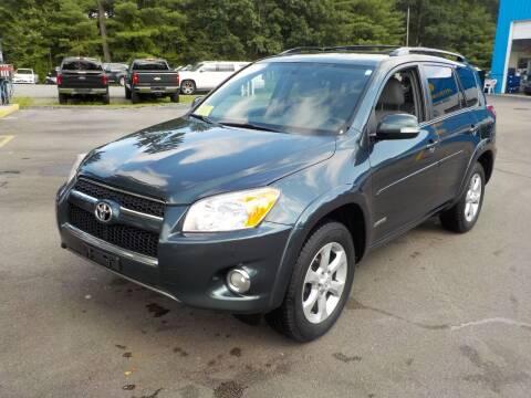 2012 Toyota RAV4 for sale at RTE 123 Village Auto Sales Inc. in Attleboro MA