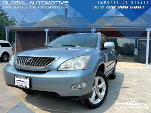 2008 Lexus RX 350 for sale at Global Automotive Imports of Denver in Denver CO