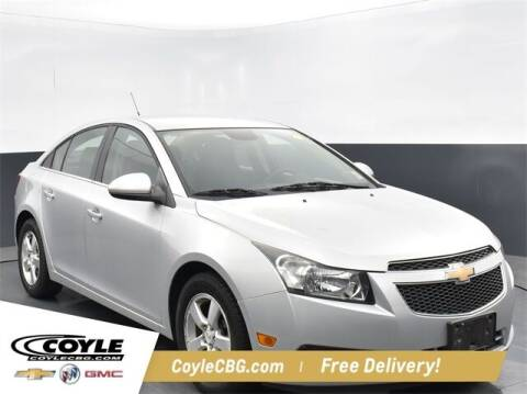 2012 Chevrolet Cruze for sale at COYLE GM - COYLE NISSAN - New Inventory in Clarksville IN