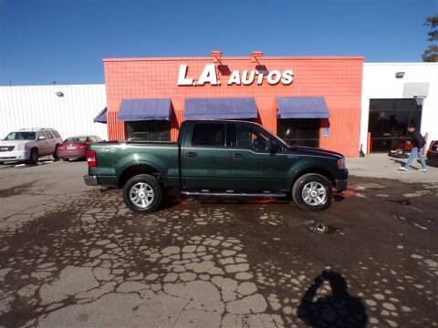 2004 Ford F-150 for sale at L A AUTOS in Omaha NE