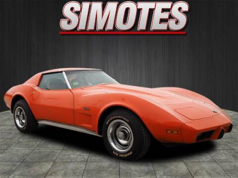1975 Chevrolet Corvette for sale at SIMOTES MOTORS in Minooka IL