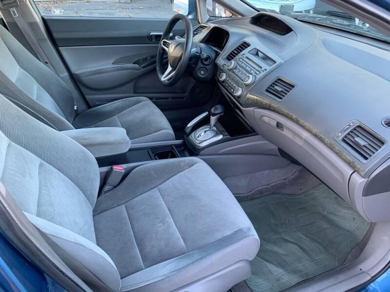 2009 Honda Civic LX 4dr Sedan 5A - Harrisburg PA