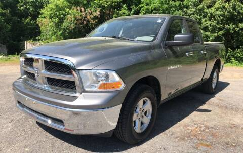 2011 RAM Ram Pickup 1500 for sale at Motuzas Automotive Inc. in Upton MA