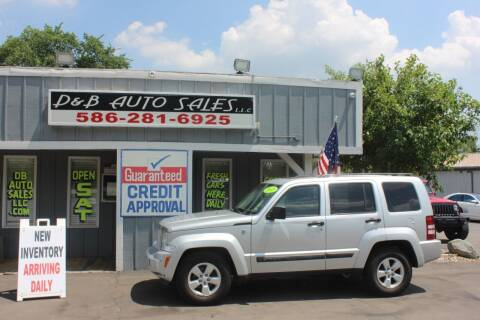 2011 Jeep Liberty for sale at D & B Auto Sales LLC in Washington Township MI