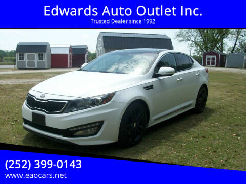 2013 Kia Optima for sale at Edwards Auto Outlet Inc. in Wilson NC