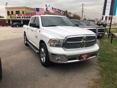 2015 RAM Ram Pickup 1500 for sale at FREDY CARS FOR LESS in Houston TX