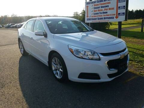 2015 Chevrolet Malibu for sale at Sensible Sales & Leasing in Fredonia NY