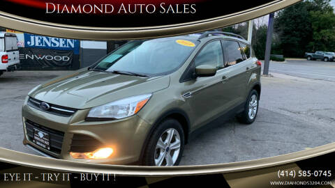 2013 Ford Escape for sale at Diamond Auto Sales in Milwaukee WI