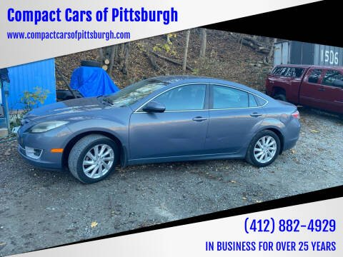 2011 Mazda MAZDA6 for sale at Compact Cars of Pittsburgh in Pittsburgh PA