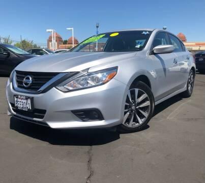2017 Nissan Altima for sale at LUGO AUTO GROUP in Sacramento CA