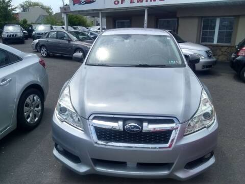 2014 Subaru Legacy for sale at Wilson Investments LLC in Ewing NJ
