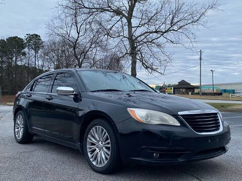2013 Chrysler 200 for sale at Top Notch Luxury Motors in Decatur GA