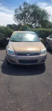 2006 Chevrolet Impala for sale at Juniors Auto Sales in Tucson AZ