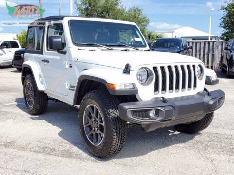 2021 Jeep Wrangler for sale at GATOR'S IMPORT SUPERSTORE in Melbourne FL