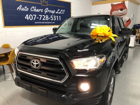 2016 Toyota Tacoma for sale at Auto Chars Group LLC in Orlando FL