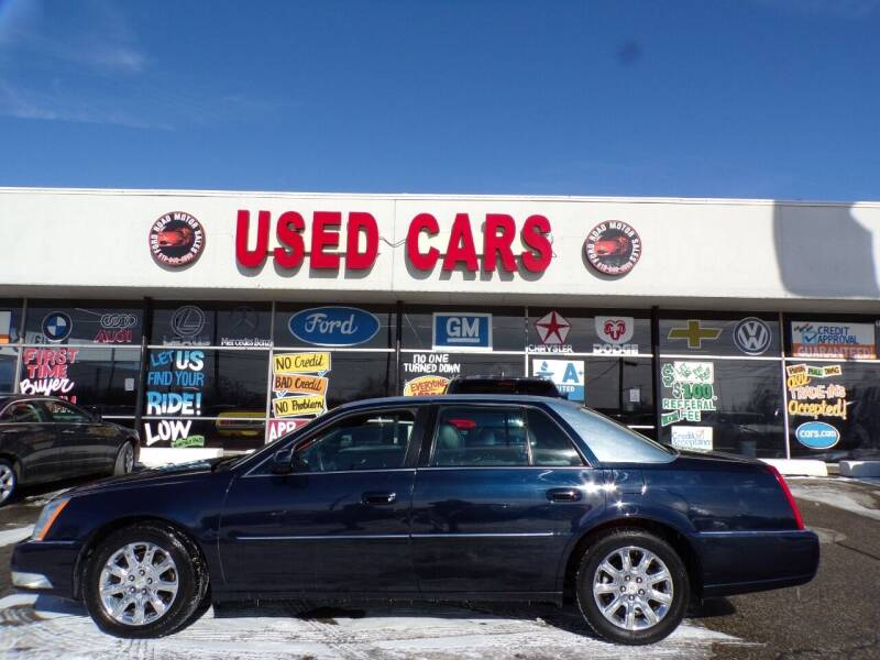 2011 Cadillac DTS Pro for sale at Ford Road Motor Sales in Dearborn MI
