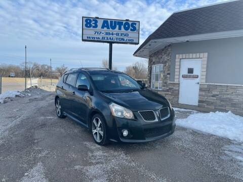 2009 Pontiac Vibe for sale at 83 Autos in York PA
