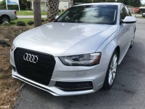 2014 Audi A4 for sale at Gulf Financial Solutions Inc DBA GFS Autos in Panama City Beach FL