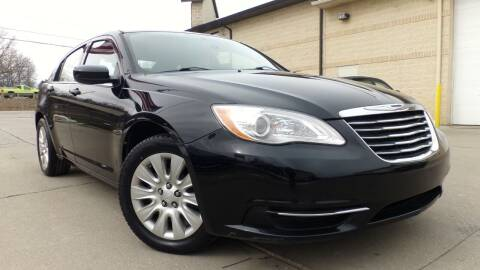 2013 Chrysler 200 for sale at Prudential Auto Leasing in Hudson OH